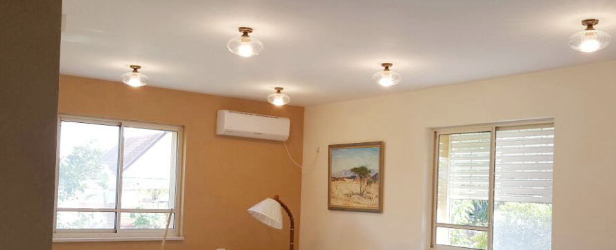 תאורה לסלון 1