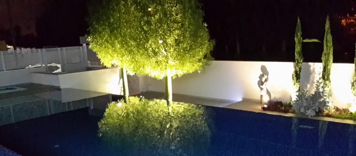 תאורת גן מרהיבה