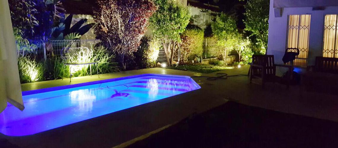תאורת גן לחצר